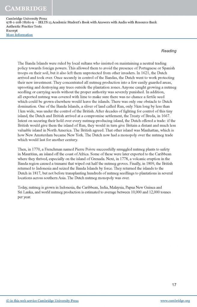 剑桥雅思真题15体验版